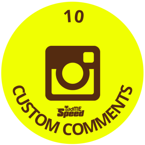 10 instagram custom comments