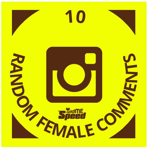 10 instagram random female comments
