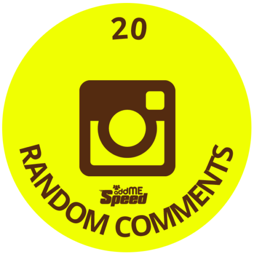 20 instagram random comments