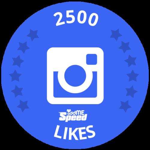 2500 Likes