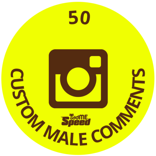 50 instagram custom male comments