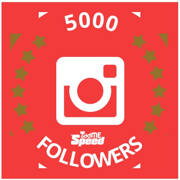 5000 Followers